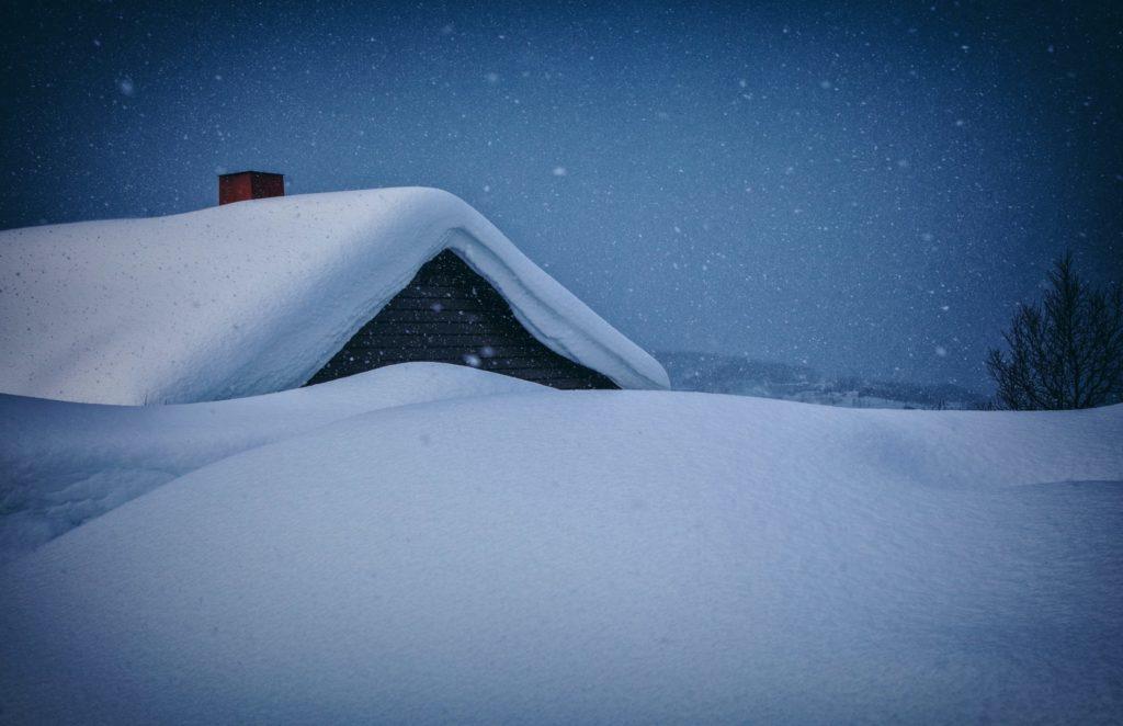 snow buildup