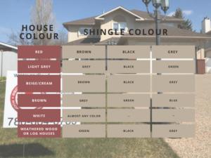 Shingle Colour Chart